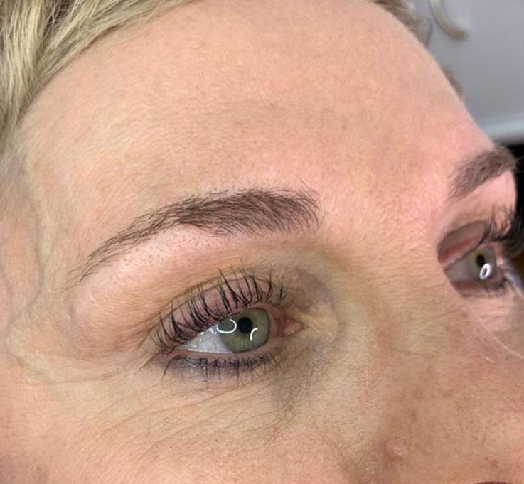 Phibrows Behandlungen - Vorher-Bild