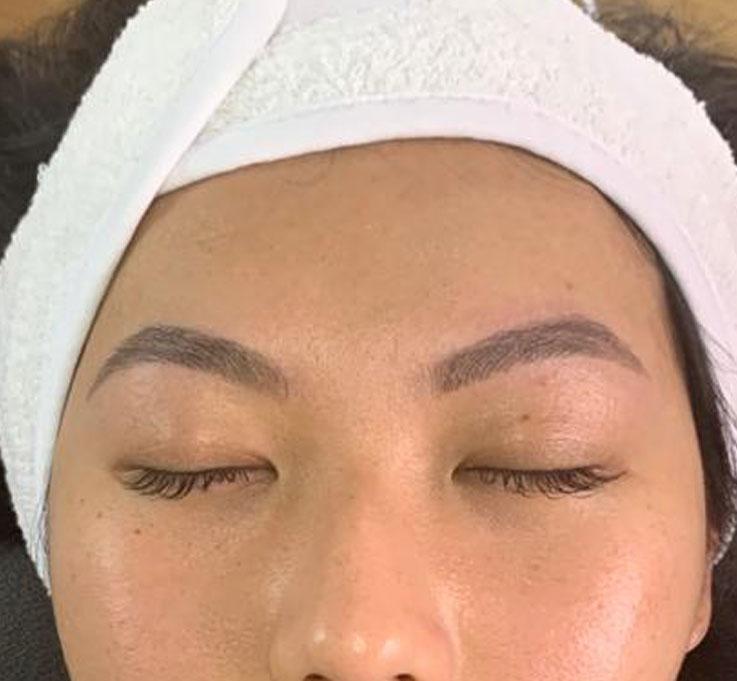 Phibrows Behandlungen - Nachher-Bild